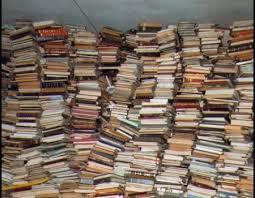 montagna di libri