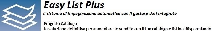 Easy List Plus – Gli specialisti del listino automatico.